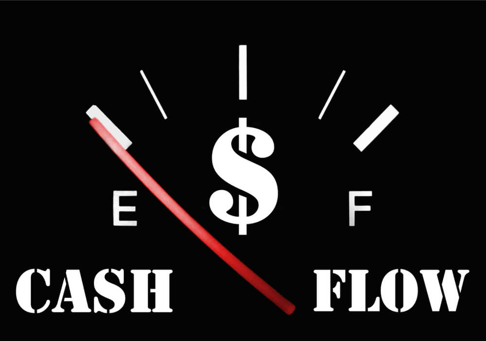 discounted and undiscounted cash flows